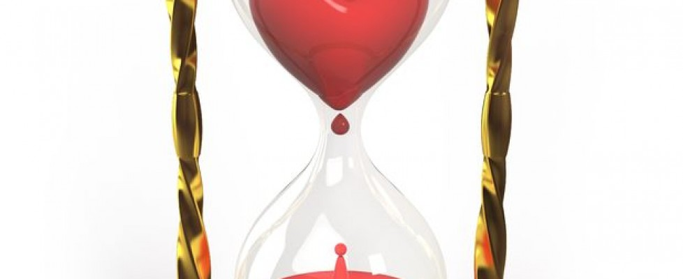 marriage counseling in boulder image of hourglass with heart